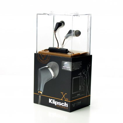 Наушники Klipsch X6i Reference In-Ear black