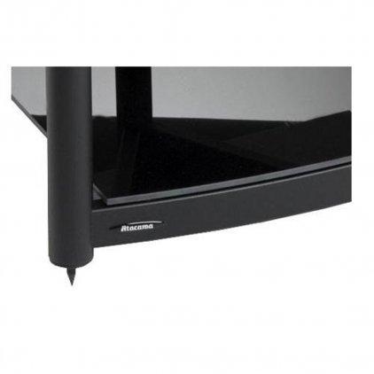 Модульная подставка Atacama Equinox Single Shelf Module AV black/piano black (полка)