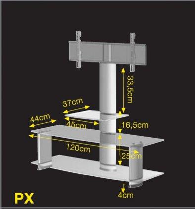 Ultimate PX 1244N silver alu