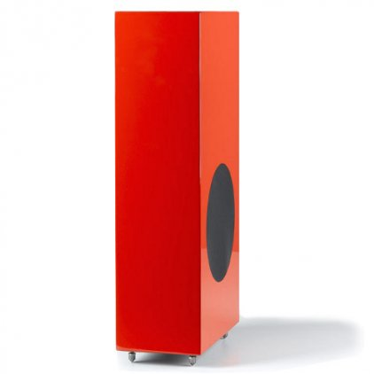 Morel Octave Signature Subwoofer piano red