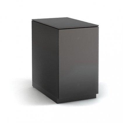 Стойка для дисков MD 855.0320 Planima (черный/дымчатое стекло)