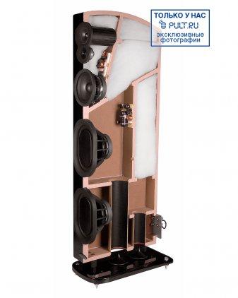 Акустическая система Polk Audio LSiM 707 midnight mahogany