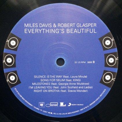 Miles Davis EVERYTHING'S BEAUTIFUL (Gatefold)