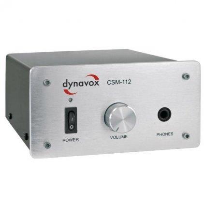 Усилитель для наушников Dynavox CSM-112 silver