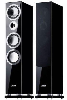 Напольная акустика Canton Chrono SL 596 DC black lacquer high gloss