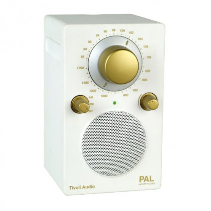 Радиоприемник Tivoli Audio Portable Audio Laboratory white/gold (PALWHTG)