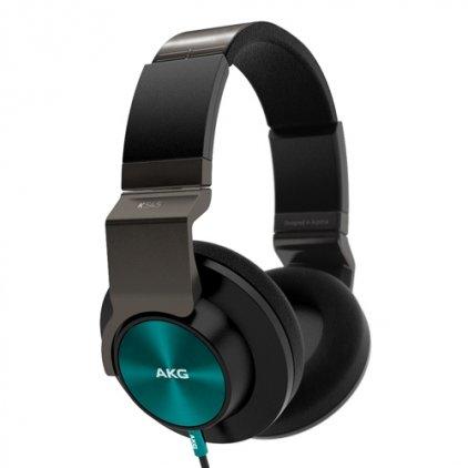 Наушники AKG K545 black/green