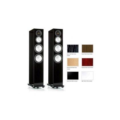 Напольная акустика Monitor Audio Silver 8 black oak
