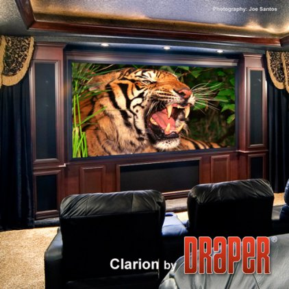 "Draper Clarion NTSC (3:4) 381/150"" 229x305 M1300 (натяжно"