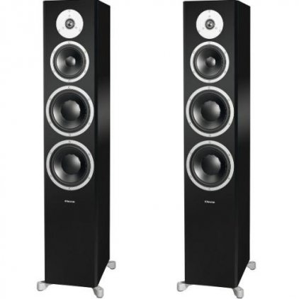 Dynaudio Excite X38 glossy black lacquer