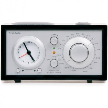 Tivoli Audio Model Three black/silver (M3BLK)