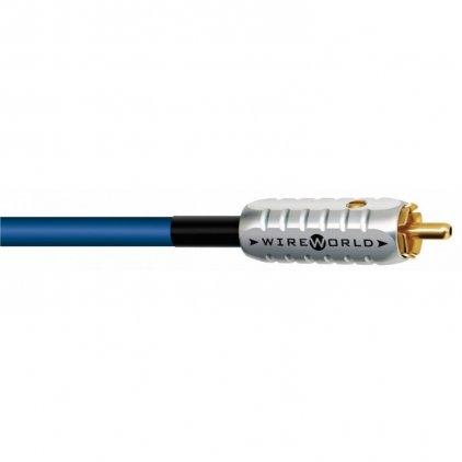 Кабель межблочный аудио Wire World Luna 7 Subwoofer Interconnect (RCA-2RCA) 6.0m