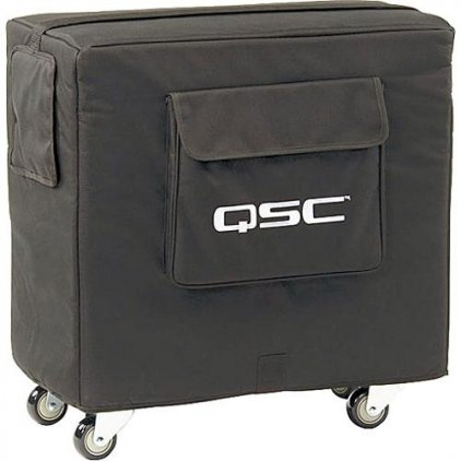 QSC KSUB COVER Всепогодный чехол для Ksub с покрытием из Nylon/Cordura® на колесах