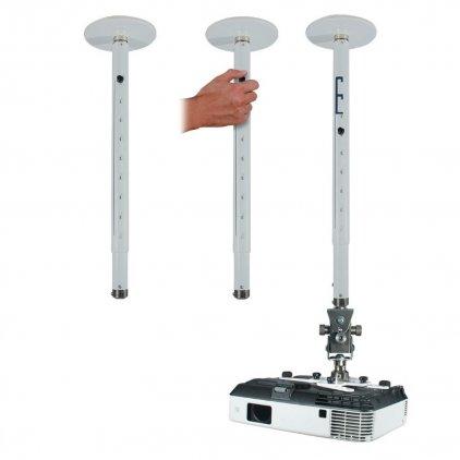 EuroMet 09266 Штанга-удлиннитель для проектора ARAKNO 685 - 1085 мм черный