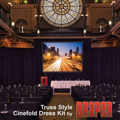 "Draper Truss-Style Cinefold NTSC (3:4) 914/360"" 549*732 XT1000V"