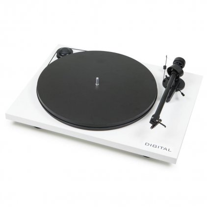 Pro-Ject ESSENTIAL II DIGITAL (OM 5e) white