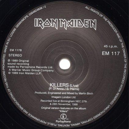 Виниловая пластинка Iron Maiden INFINTE DREAMS (LIVE) (Limited)