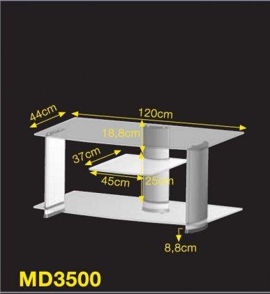Ultimate MD 3500B silver alu