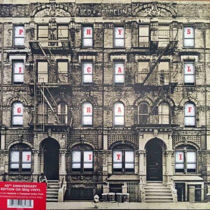 Виниловая пластинка Led Zeppelin PHYSICAL GRAFFITI (Remastered/180 Gram)