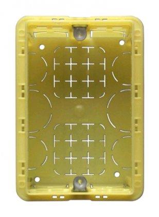 APart BBI1 Настенная монтажная коробка для панелей дистанционного управления PM1122R или ZONE4R, 80*115*40 мм.