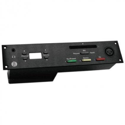 Микрофонный врезной пульт делегата со встроенной электроникой и передней панелью DIS DM 6588 F (для серии DCS6000)