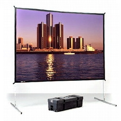 "Экран Da-Lite Fast-Fold Deluxe (3:4) 366/150"" 229x305 DualVision (мобильный) 88701"
