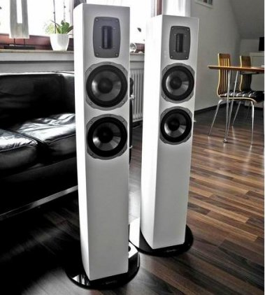 Напольная акустика Quadral Chromium Style 52 black high gloss