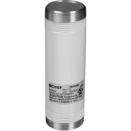 Chief CMS006 white Fixed Extension Column 6""