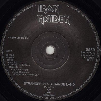 Виниловая пластинка Iron Maiden STRANGER IN A STRANGE LAND (Limited)