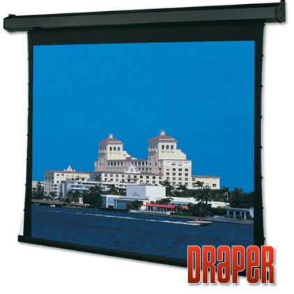 """Экран Draper Premier HDTV (9:16) 269/106"""" 132*234 XT1000V (M1300) ebd 30"""" case black"""