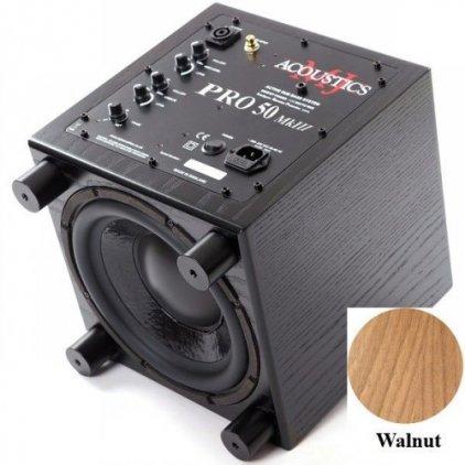 MJ Acoustics Pro 50 Mk III walnut