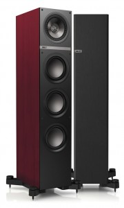 KEF Q700  rosewood vinyl