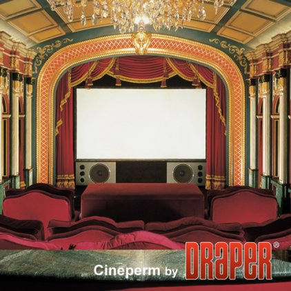 """Draper Cineperm NTSC (3:4) 381/150"""" 229x305 CRS (натяжной"""