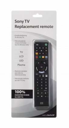 Пульт OneForAll Replacement Remote for Sony TVs (URC1912)