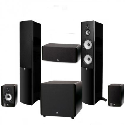 Boston Acoustics A360 + A25 + A225C + ASW250