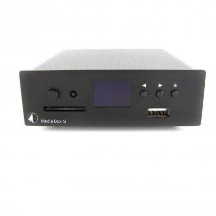 Сетевой аудио проигрыватель Pro-Ject Media Box S black