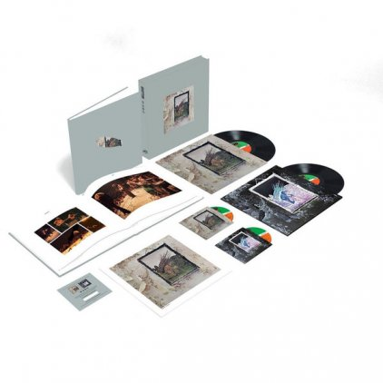 Led Zeppelin LED ZEPPELIN IV (Super Deluxe Edition Box set/Remastered/2CD+2LP/180 Gram/Hardbound 80-page book)