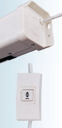 ScreenMedia с электроприводом Champion 305*305 MW (SCM-1108)