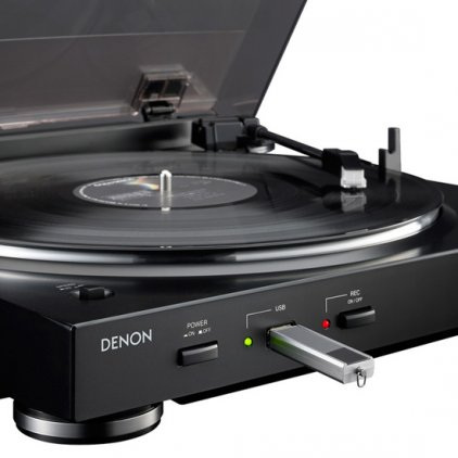 Denon DP-200USB black