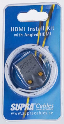 Supra HDMI Install KIT MET-B/Nylon Braid
