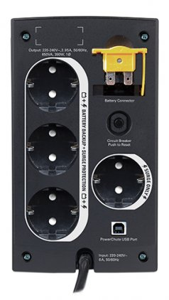 APC Back-UPS BC650-RS 650VA black