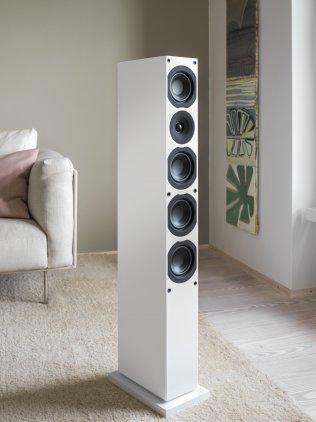 Напольная акустика System Audio SA Saxo 50 High Gloss White