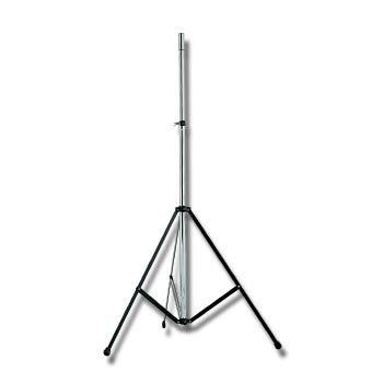 EuroMet BS/50-T Стойка для громкоговорителей до 40кг, с треногой, хромированная сталь. h:1475-2470mm