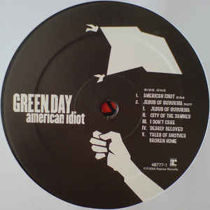 Виниловая пластинка Green Day AMERICAN IDIOT (Gatefold)
