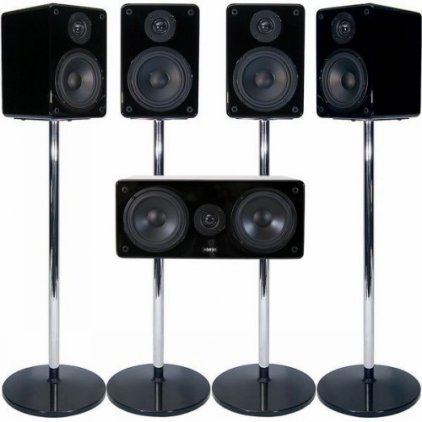 MJ Acoustics XENO 5.0 System MK2 black lacquer