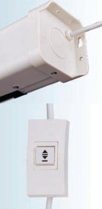 ScreenMedia с электроприводом Champion 274*274 MW (SCM-1107)