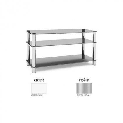 MD Flatform TV 15 серебро/прозрачное