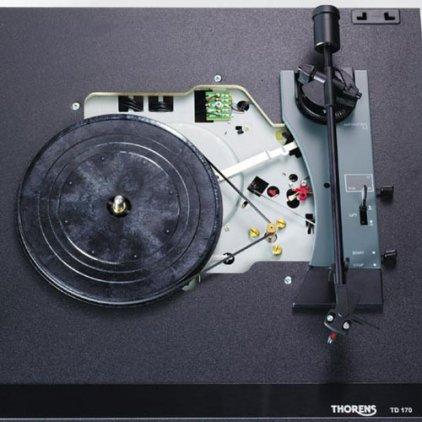Проигрыватель винила Thorens TD 170 EV black (картридж OM 10)