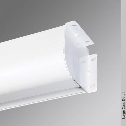 "Экран Draper Targa HDTV (92""/16:9) 114x203 MW ebd 40"""