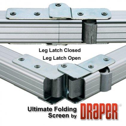 "Draper Ultimate Folding Screen HDTV (9:16) 338/133"" 162*292 MW"